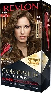Revlon Colorsilk Buttercream Hair Dye, Light Natural Brown, Pack of 1