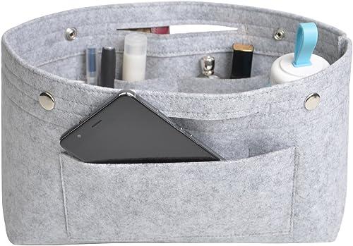 Ducomi Sac de Rangement pour Femme avec int/érieur spacieux Double poign/ée Organiseur Bag avec Poches pour Voyage Fit Extensible Grande Poche int/érieure
