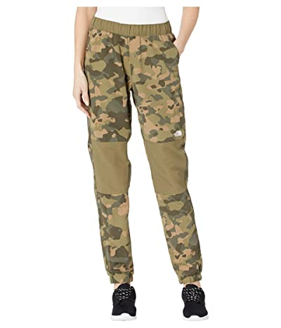 The North Face Class V Jogger (Burnt Olive Green Ponderosa Print) Women
