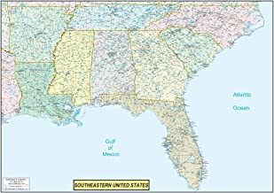 Best southeast map us Reviews