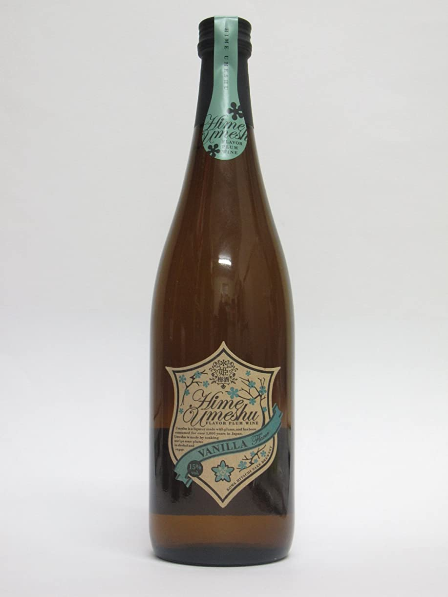 瞳控えるしばしば姫梅酒 バニラ/VANILLA FLaver 720ml