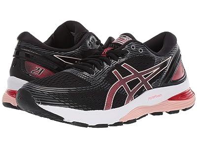 ASICS GEL-Nimbus(r) 21 (Black/Laser Pink) Women