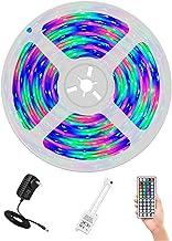 AUSELECT LED Strips Lights 5M SMD 300LED 3528 RGB Waterproof 44 Key Control Unit AU DC