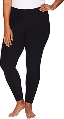 Plus Size High-Waisted Midi Leggings
