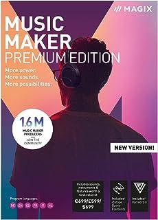 MAGIX Music Maker 2019 | Premium | PC | Codice d'attivazione per PC via email