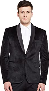 Men's Premium Velvet Notch Lapel Tuxedo Coat Blazer Jacket