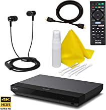Sony UPB-X700 4K Blu Ray Player Ultra HD 3D Hi-Res Audio Wi-Fi Blu-ray Player with A 4K HDMI Cable and Remote Control (UPB X700)