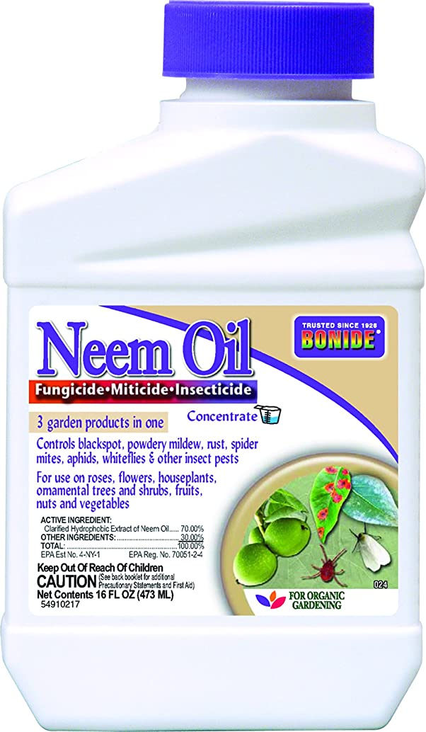BONIDE PRODUCTS INC B006QYSAPQ Bonide 024 Concentrate Neem Oil Insect Repellent, 16-Ounce, 1, Multi