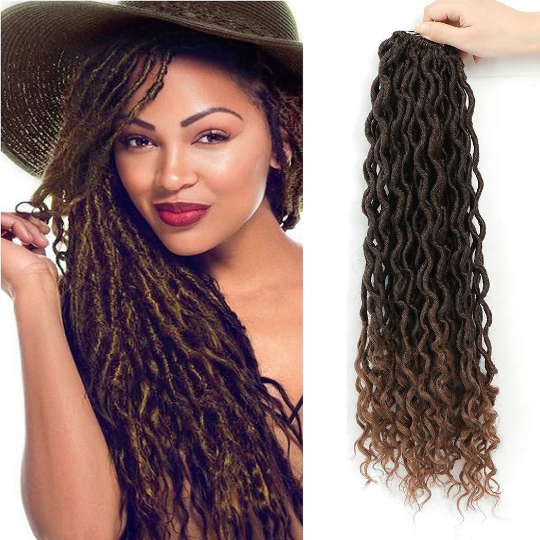 20 price Inch 6 Packs Alternative dealer Crochet Curly goddes Locs Hair Faux