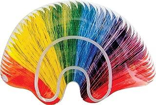 Inflatable Rainbow Mohawk Wig