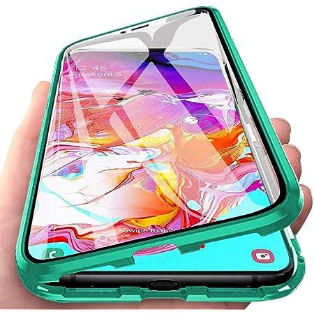 """Coque pour Huawei Y5 2019 (5.71""""), Coque d'adsorption magnétique [Verre Trempé Double Face] [Cadre Protectrice Métallique] Protection 360° Protection ..."""