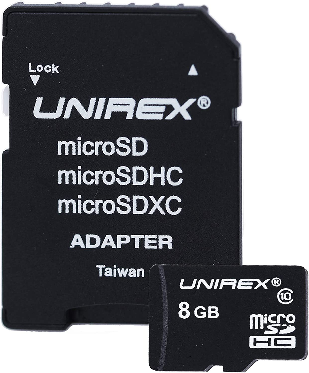 8GB Camera Storage Solution Adapter Kit - SD Card Adapter with Micro SD Memory Card - Compatible with Tablet, Computer, Laptop, Camera, Switch and Cell Phone - Class 4
