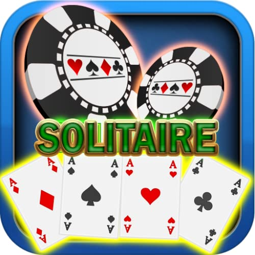 Heaven Mania Solitaire Underwater After Glow casino Chips Jackpot Premium Easy Classic Solitaire Free Game Tablets Mobile Kindle Fire Offline Cards Games Free