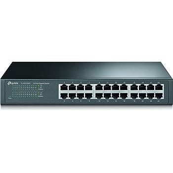 TP-Link スイッチングハブ  24ポート TL-SG1024D 10/100/1000Mbps 金属筺体 ギガビット 5年保証