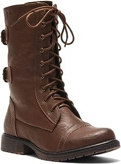 Best cute brown combat boots Reviews