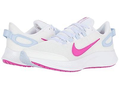 Nike Run All Day 2 (Summit White/Fire Pink/Hydrogen Blue) Women