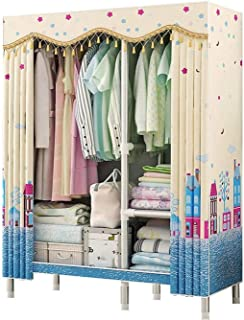 ZZYE Penderie Tissu Armoire Rangement Placard vêtements Portables armoires de Rangement Placard Portable Armoire Organisat...