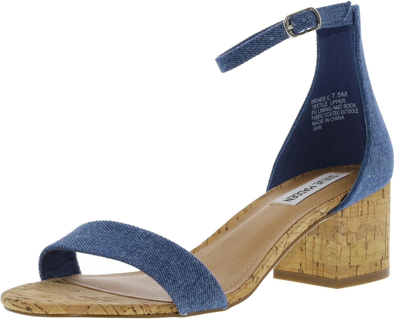 Steve Madden Women's Irenee-C Fabric Ankle-High Pump