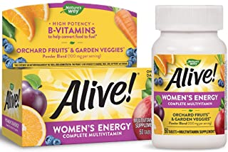 Natures Way Alive Womens Energy Multivitamin Multimineral - 50 Tablets