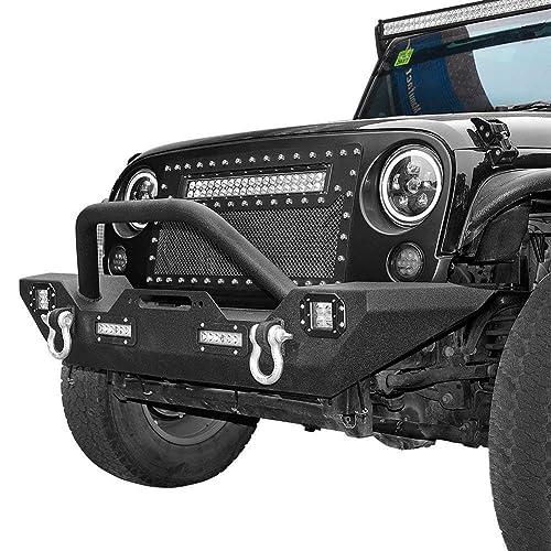 Jeep Wrangler Bumpers Front: Amazon com