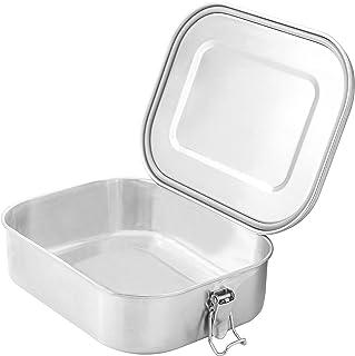 Gadgy Caja del Almuerzo de Acero Inoxidable | Gran Lunchbox Respetuosa con el Medio Ambiente | Adecuada para la Preparació...