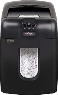 Rexel Auto Feed 130X 130 Sheet Cross Cut Shredder for Personal or Executive Use (Up To 2 Users), 26L Removable Bin, Includ...