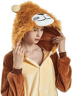 LONGTEN Animal Onesie Pajamas for Women Men Christmas Halloween Cosplay  Costume d36af406f