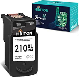 HibiTon Remanufactured Ink Cartridge Replacement for Canon PG-210XL PG210XL 210XL 210 XL Work with Pixma MP495 MX410 MX340...