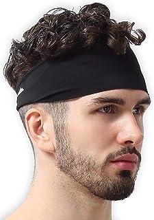 Mens Headband - Sweat Band Workout Head Bands Sports...