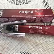 LOreal Majirel 7.44 , Color Rubio Cobrizo Intenso, 50 ml