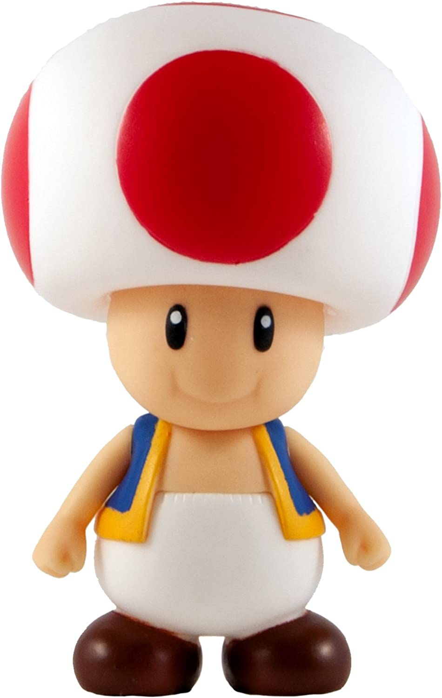 Toad 3.9 Figure  Super Mario Figurine Collection Series