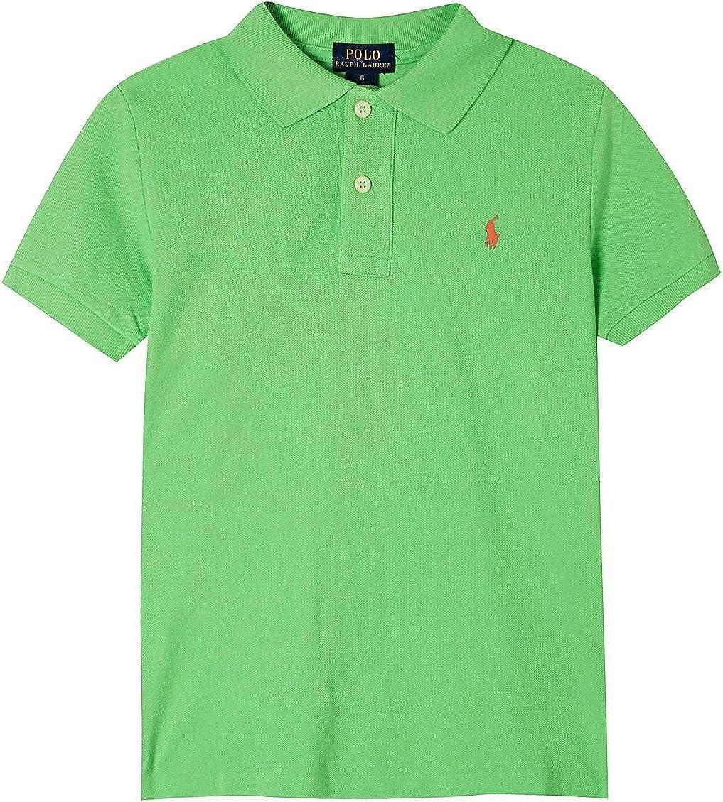 Ralph Lauren Polo Boys' Classic Cotton Mesh Polo Shirt