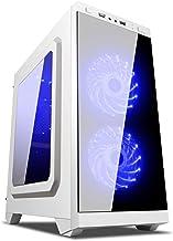 UNYKAch Armor C21 Torre Blanco Carcasa de Ordenador - Caja de Ordenador (Torre, PC, SPCC, Micro-ATX, Blanco, 0,5 mm)