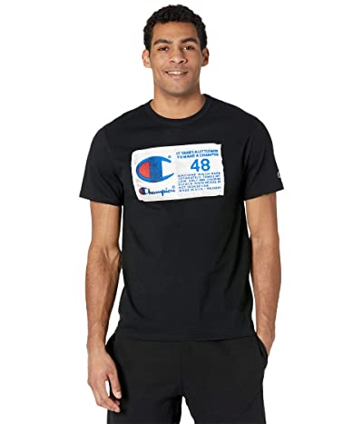 Champion LIFE Heritage Short Sleeve T-Shirt (Black) Men