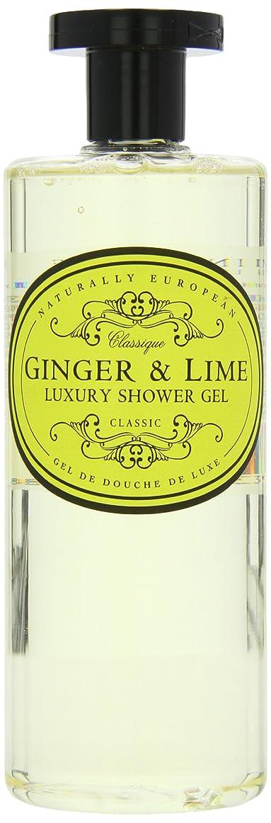 ボイド位置づけるナースNaturally European Ginger and Lime Luxury Shower Gel 500ml