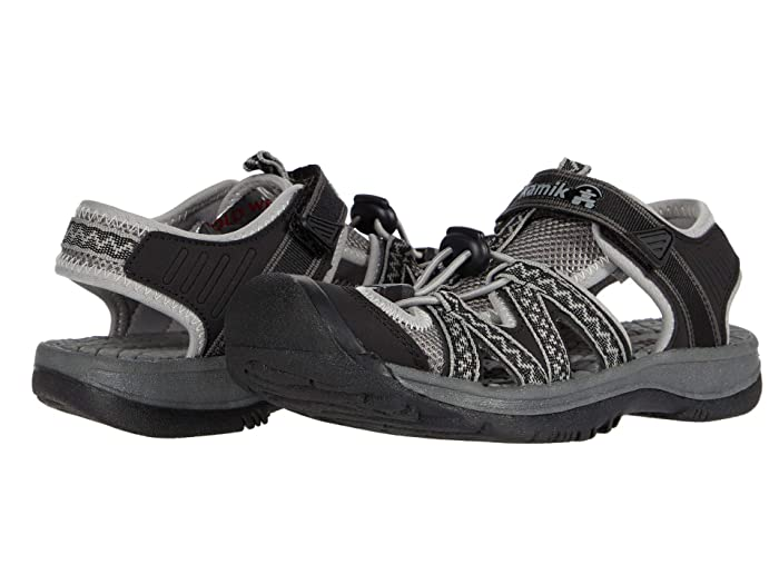 Kamik  Islander2 (Black/Charcoal) Womens Shoes