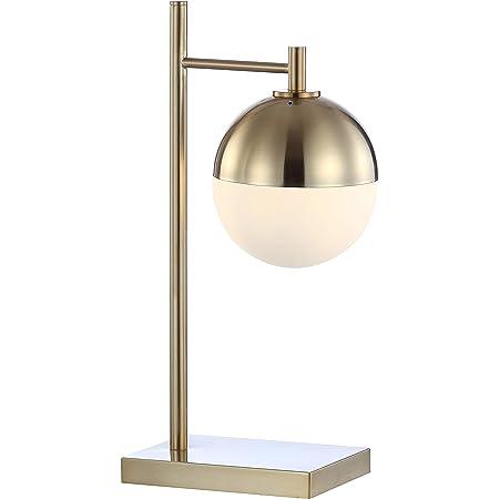 Vtg Mid Century  Gold 29\u201d  Lamp
