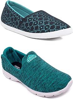 ASIAN Women's Fabric Casual, Sports Walking and Running Shoes