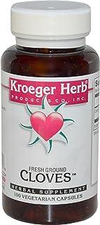Kroeger Herb Co, Fresh Ground Cloves, 100 Veggie Caps - 2pc