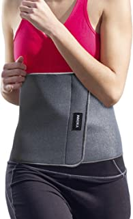 INNOKA Waist Trimmer Belt Back Support [Weight Loss] Slimming Body Shaper Belt,  Adjustable Stomach Wrap,  Fat Burning,  Sweat Enhancer,  Workout Exercise Jumping Running Kickboxing for Men & Women
