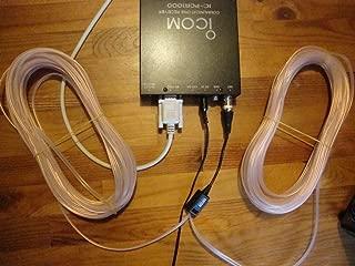 FidgetKute GW-30 HF/SW/VHF/UHF wideband Portable Scanner 30ft BNC Antenna (RX)-0.1-1300MHZ Show One Size