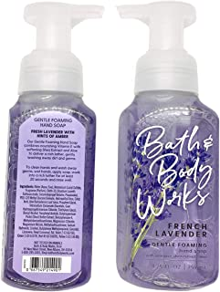 Bath and Body Works Gentle Foaming Hand Soap, French Lavender (2-Pack) 8.75 Ounce