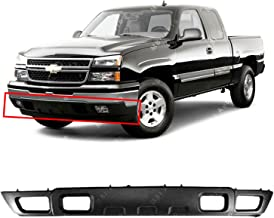BUMPERS THAT DELIVER - Textured, Black Front Lower Bumper Air Deflector for 2003-2006 Chevy Silverado & Avalanche 03-06, G...