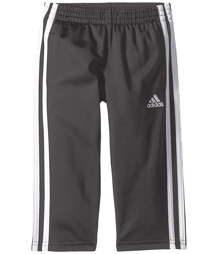 adidas Kids  Replen Iconic Tricot Pants (Toddler/Little Kids) (Dark Grey) Boys Casual Pants