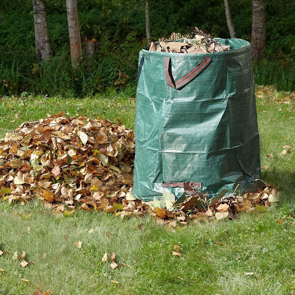 RICHIE 2 Packs Garden Waste Bags Heavy Duty Garden Bags with Handles Garden Sacks Reusable