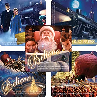 SmileMakers The Polar Express Stickers - Prizes 100 per Pack
