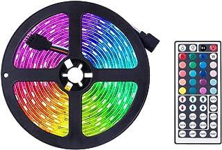 Ledstrip Fairy, van kleur veranderende ledstrip, RGB lichtstrip set met afstandsbediening, ideaal voor kamer, huis, keuke...