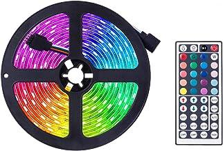 Ledstrip Fairy, van kleur veranderende ledstrip, RGB lichtstrip set met afstandsbediening, ideaal voor kamer, huis, keuken...