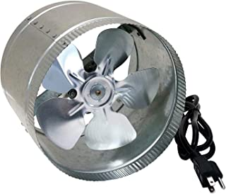 SunStream 10 inch Duct Booster Fan 560 CFM, Low Noise