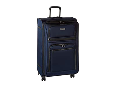 Kenneth Cole Reaction 28 Rugged Roamer Lightweight Softside Expandable 8-Wheel Checked Luggage (Navy) Luggage
